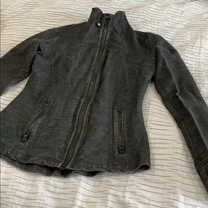 Lululemon dark gray align jacket
